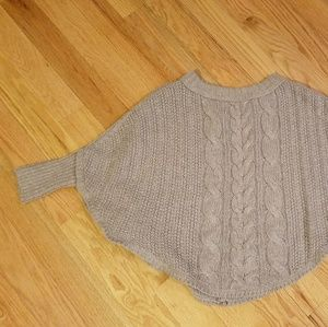 Cape Like Sweater